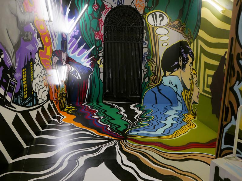 Hermes Wanderland: Saatchi Gallery 2015