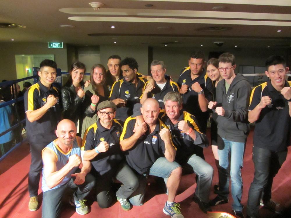The Sydney Uni Boxing team