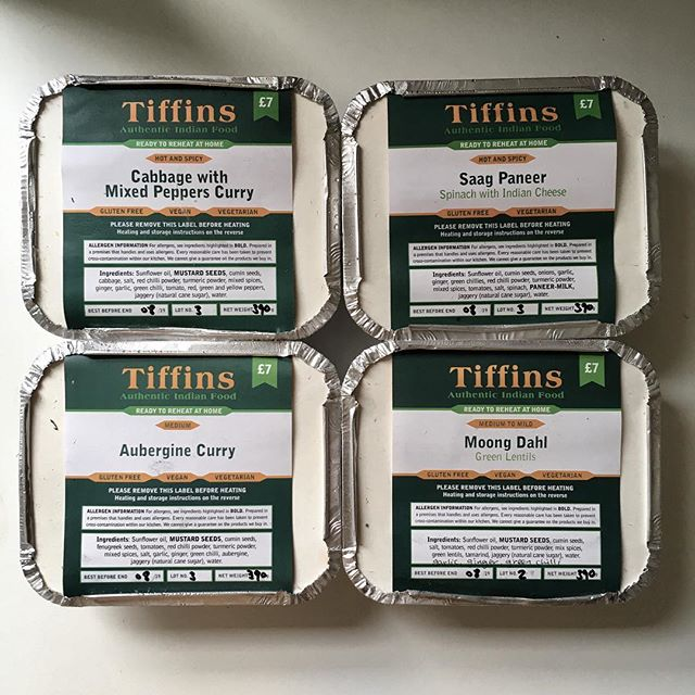 Curry favour #tiffinsbristol #frozencurry #readymeals #tiffintea #idesignforcurry #curryfavour