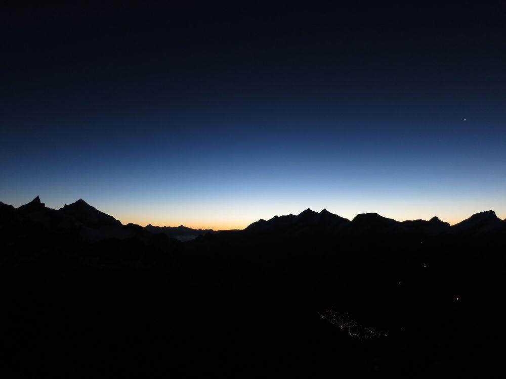 Zermatt sunrise