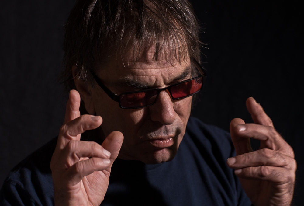 "Mickey Hart listens to  Gyuto Monks -  ""Freedom Chants From the Roof of the World""             1/2"