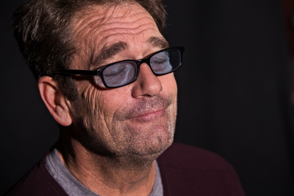 "Huey Lewis listens to Johnny Taylor – ""Just the One I've Been Looking For""                                1/2"