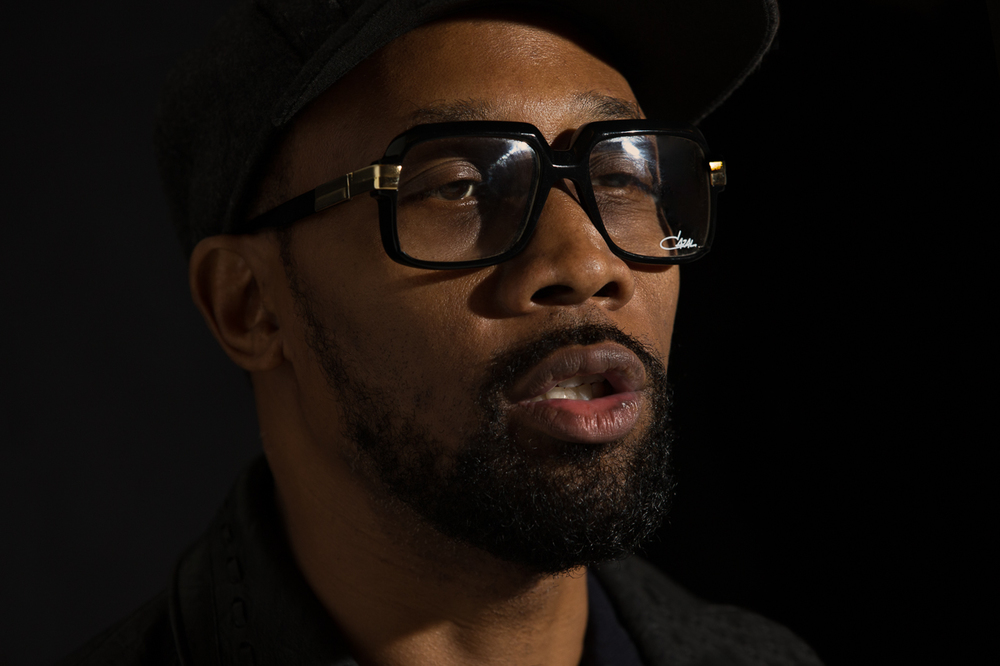 "RZA listens to ""C.R.E.A.M."" (""Cash Rules Everything Around Me"")             1/2"