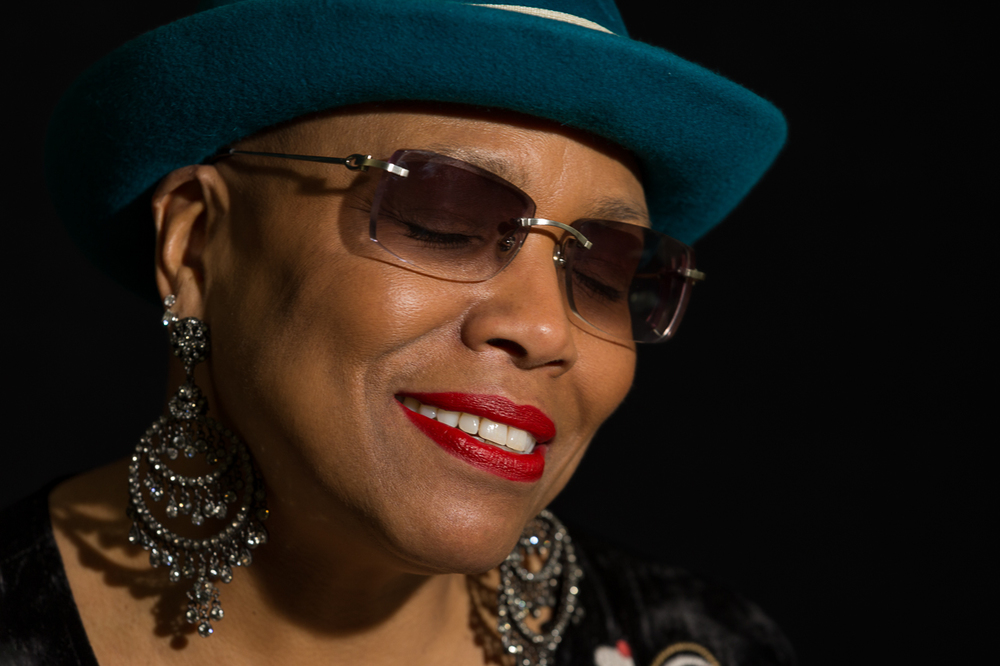 "DeeDee Bridgewater listens to Nina Simone - ""Four Woman""                      1/2"