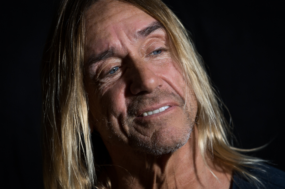"Iggy Pop  listens to Chrissy Zeboy Tempo - ""Troublemaker""                       2/2"