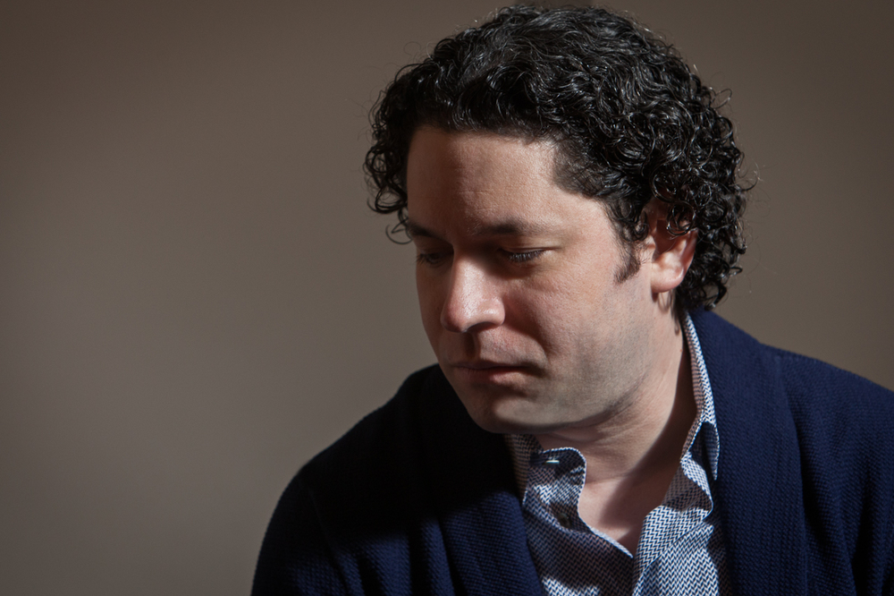 "Gustavo Dudamel listens to Simon Diaz ""Arbolito Sabanero"""