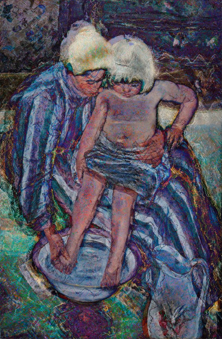 Cassatt, Mary (The Child's Bath, 1893)