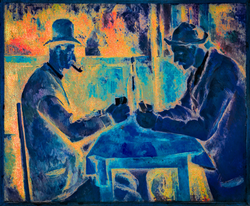 Cézanne, Paul (Les joueurs de cartes, Card Players)