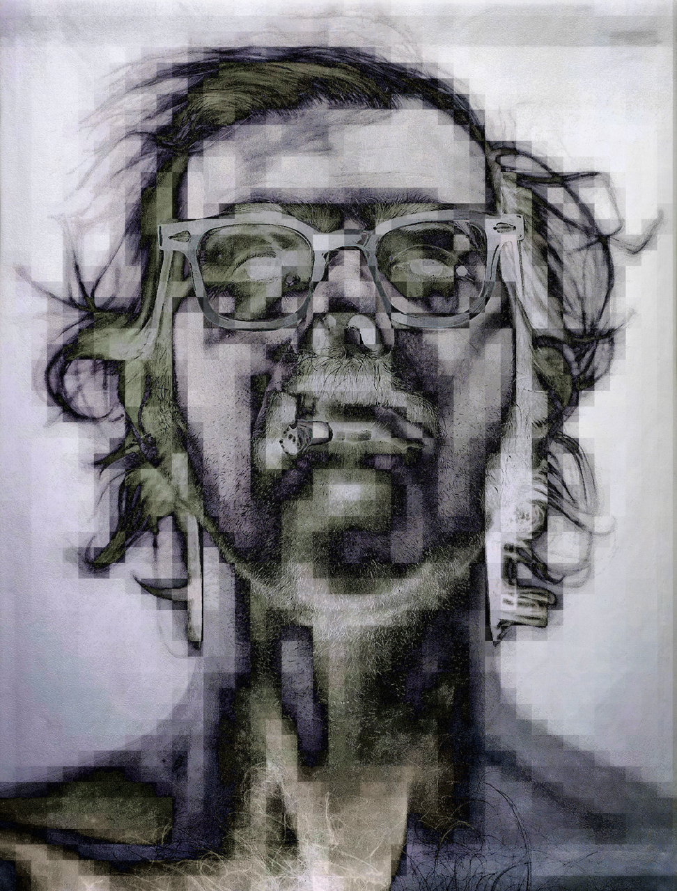 Close, Chuck (Self Portrait, 1967)