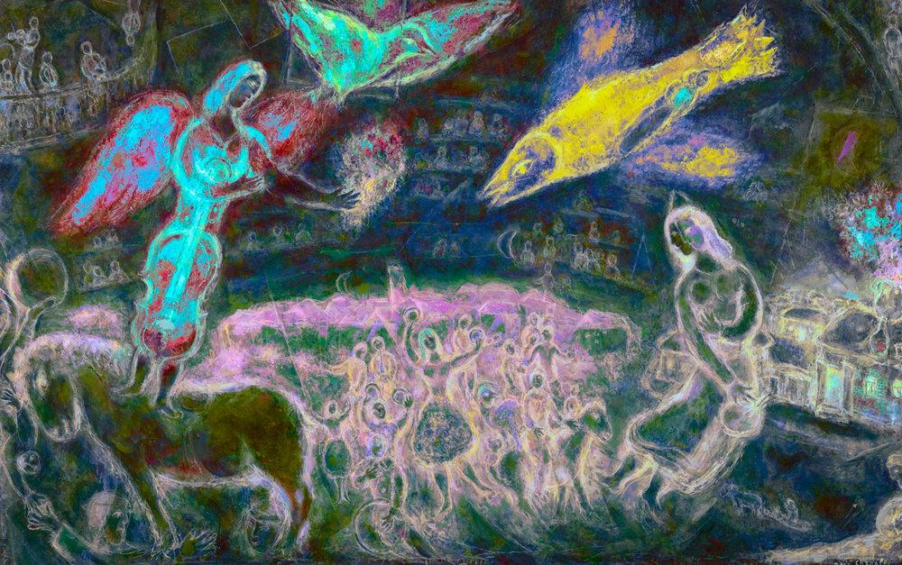 Chagall, Marc (Les Sources de la musique, 1967)