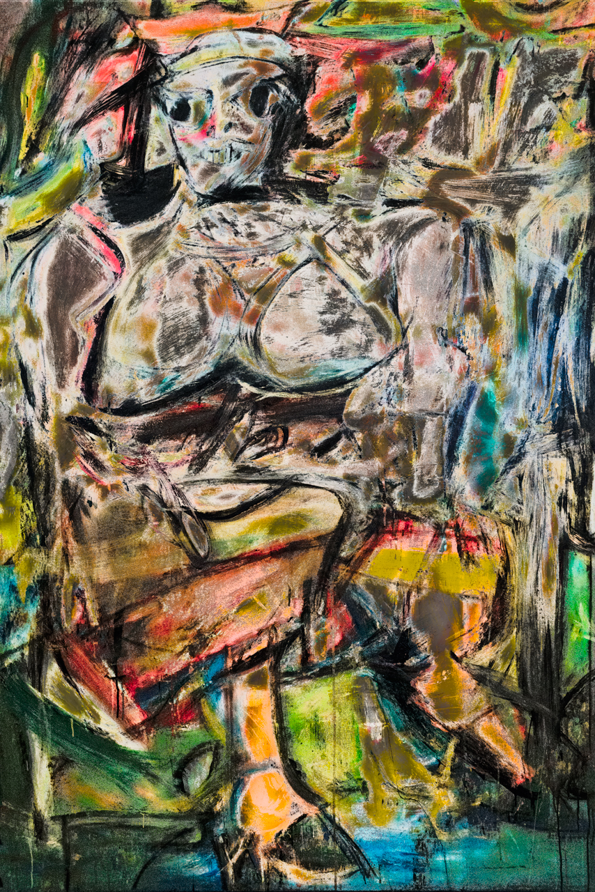 de Kooning, Willem (Woman I, 1952)