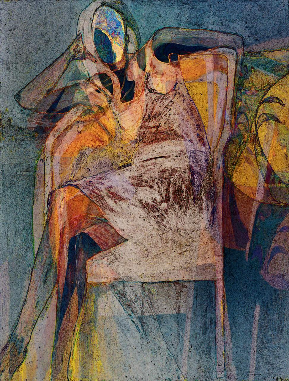 Diebenkorn, Richard (Seated Woman, 1967)