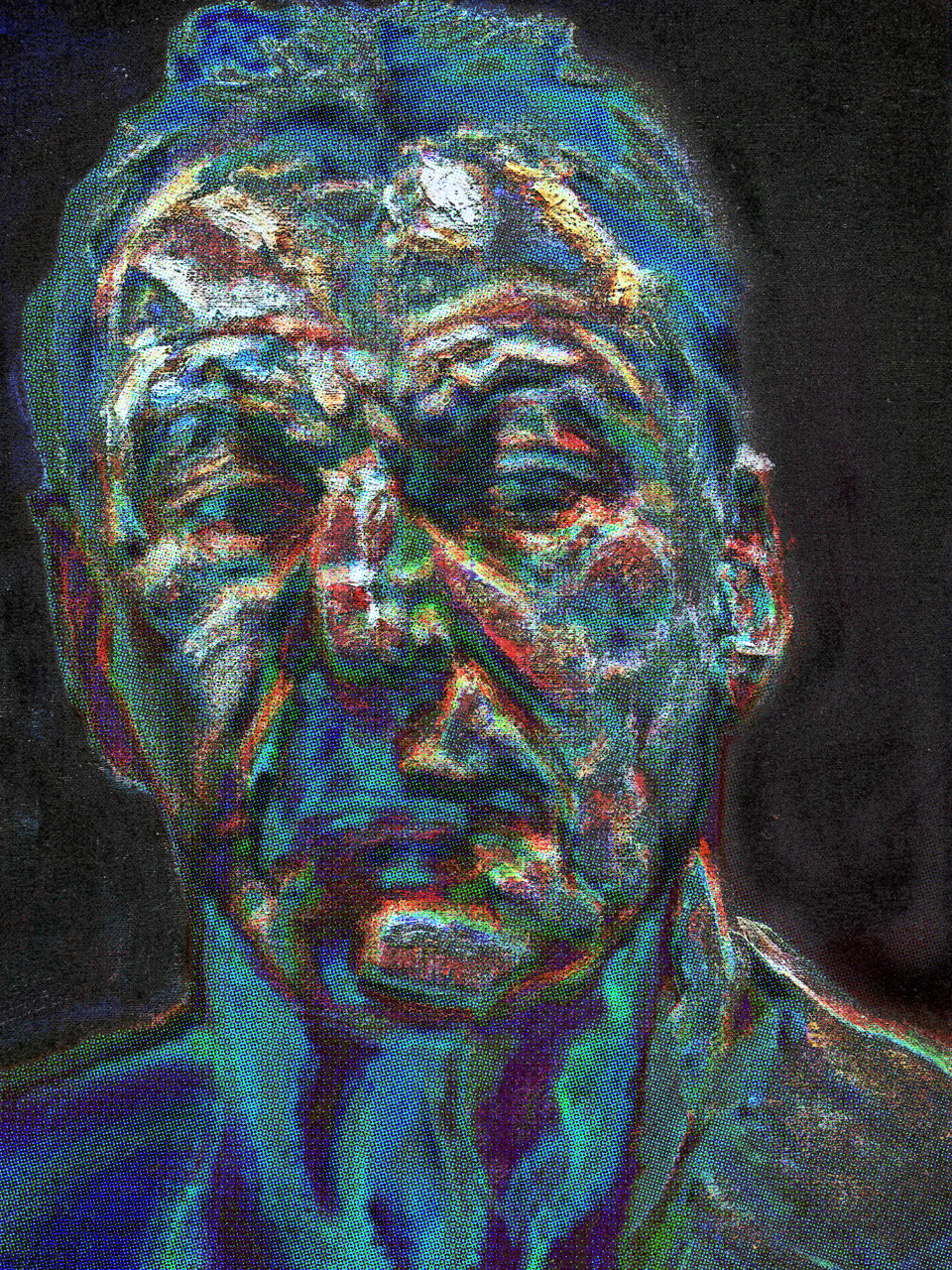 Freud, Lucian (Reflection Self-portrait -1985)
