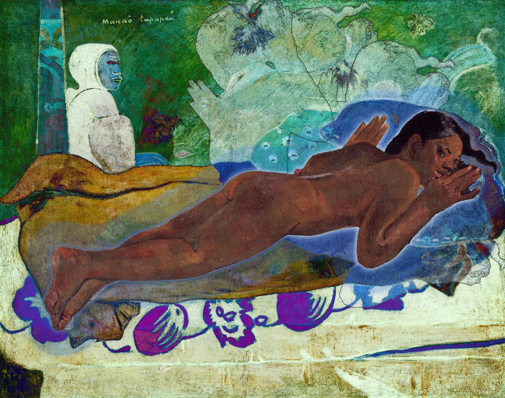 Gauguin, Paul (Manao Tupapau (The Spirit of the Dead Keeps Watch,  1892)