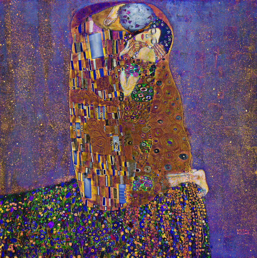 Klimt, Gustav (The Kiss, 1908)