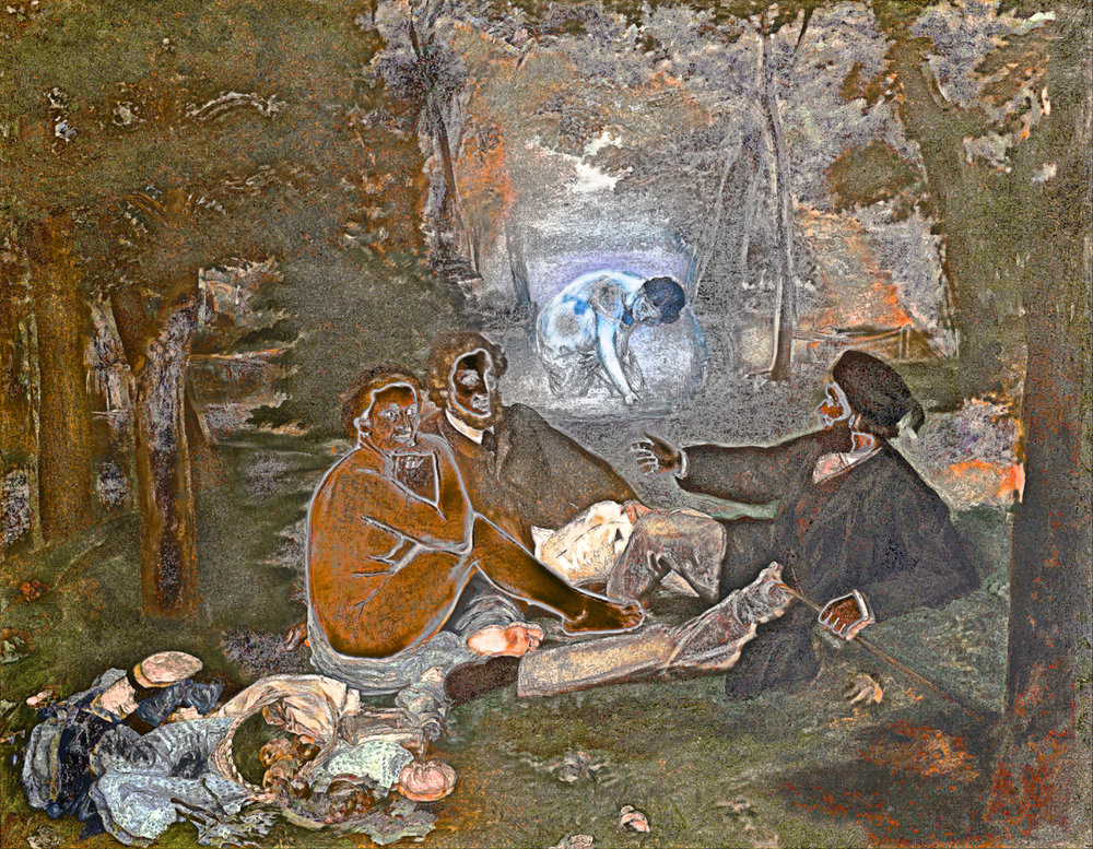 Manet, Édouard (Luncheon on the Grass, 1863)