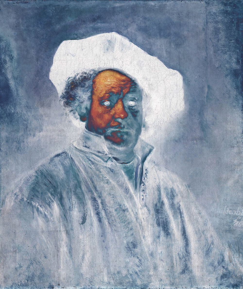 Rembrandt (Self-Portrait, 1660)