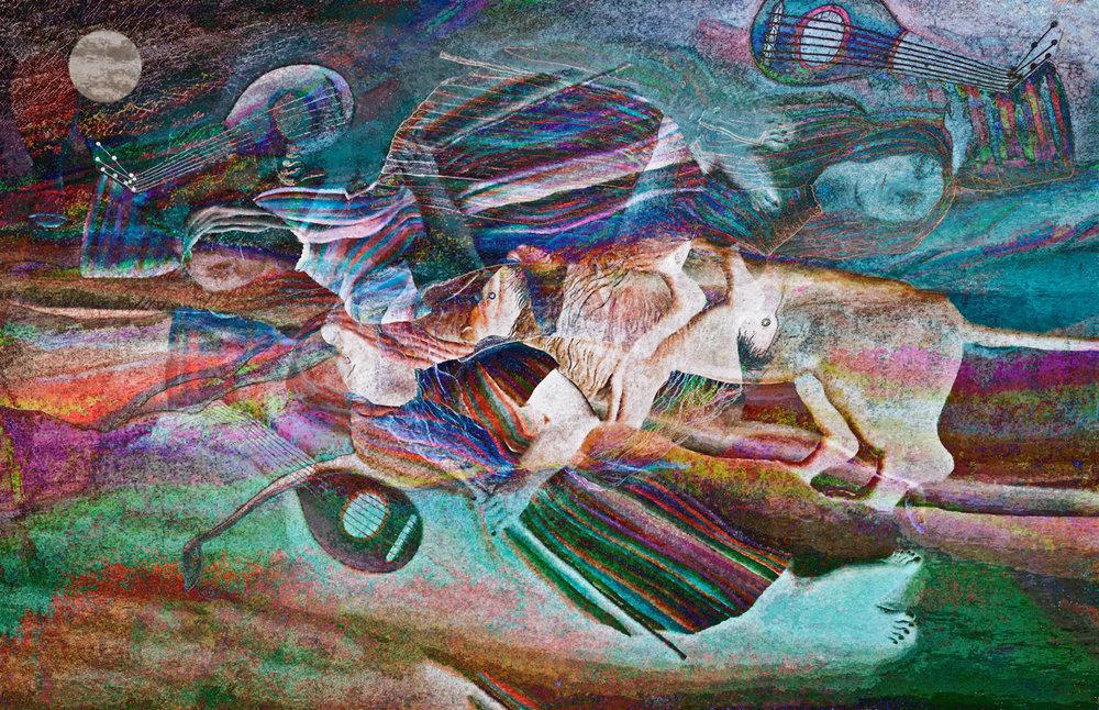 Rousseau, Henri (Henri Rousseau (Zingara addormentata (Sleeping Gypsy), 1897)