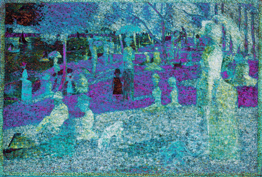Seurat, Georges (A Sunday on La Grande Jatte, 1886)