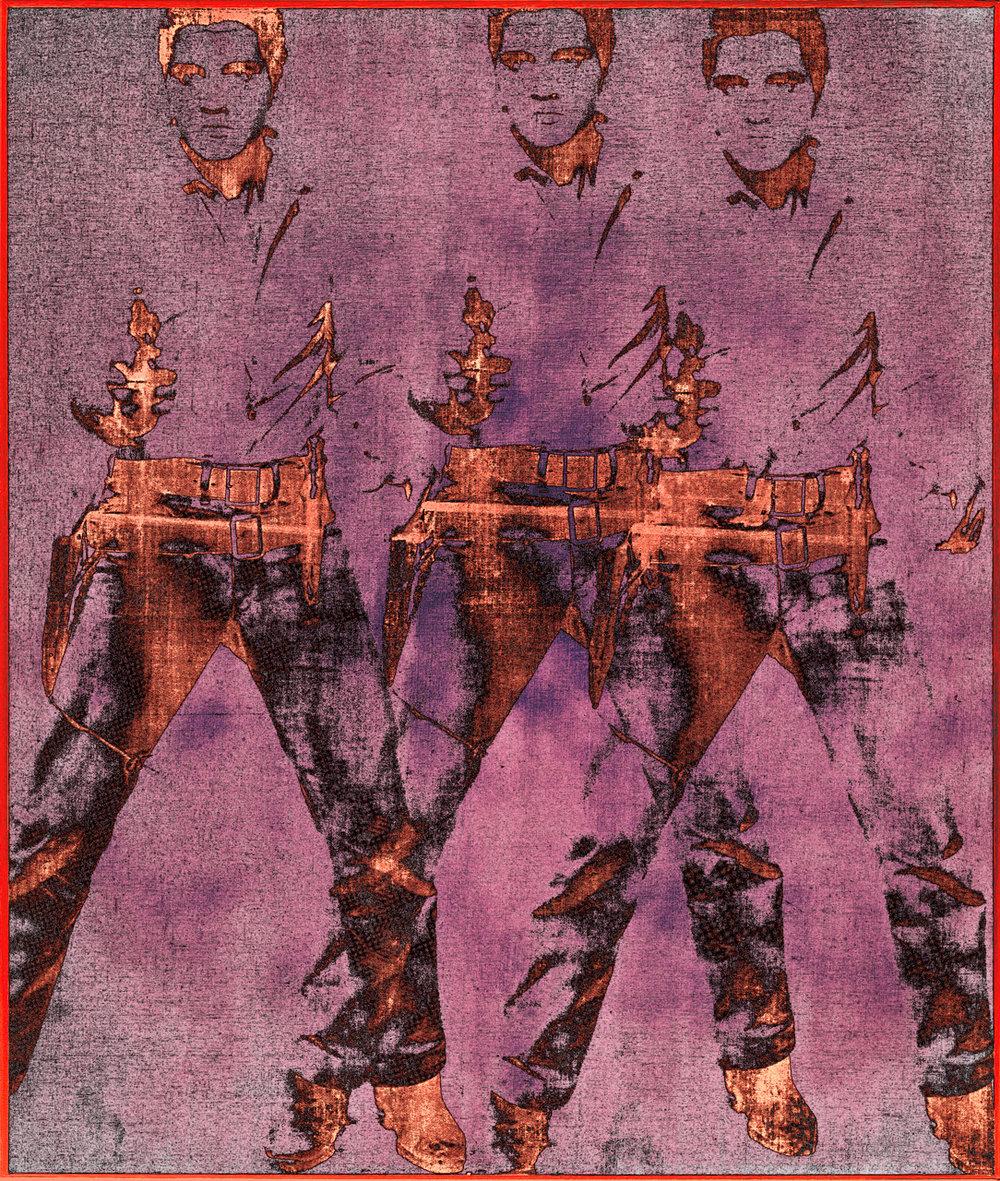 Warhol, Andy (Triple Elvis[Ferus type] ,1963)