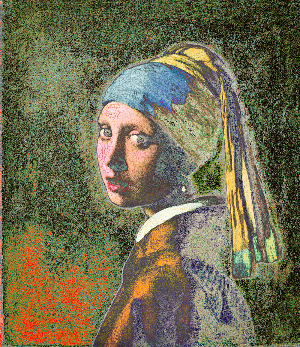 Vermeer, Johannes (Girl with a Pearl Earring, 1665)