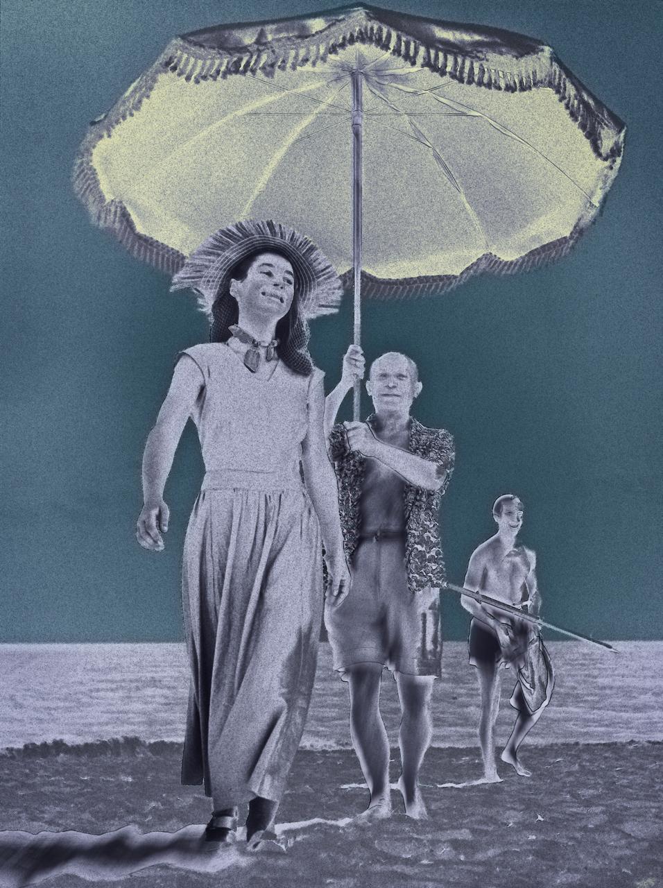 Capa, Robert (Pablo Picasso and Françoise Gilot 1951)