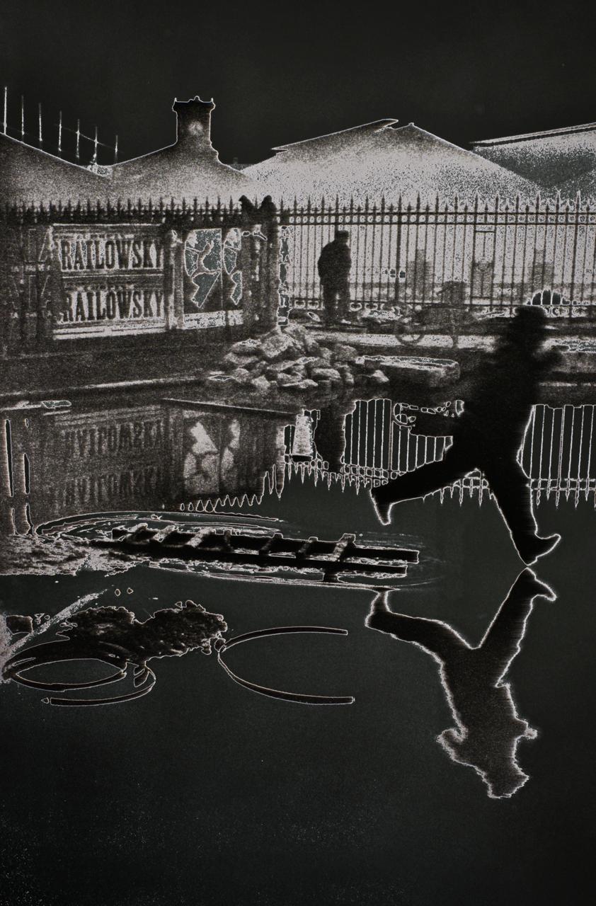Cartier-Bresson, Henri (Behind the Garre St.-Lazare, 1932)