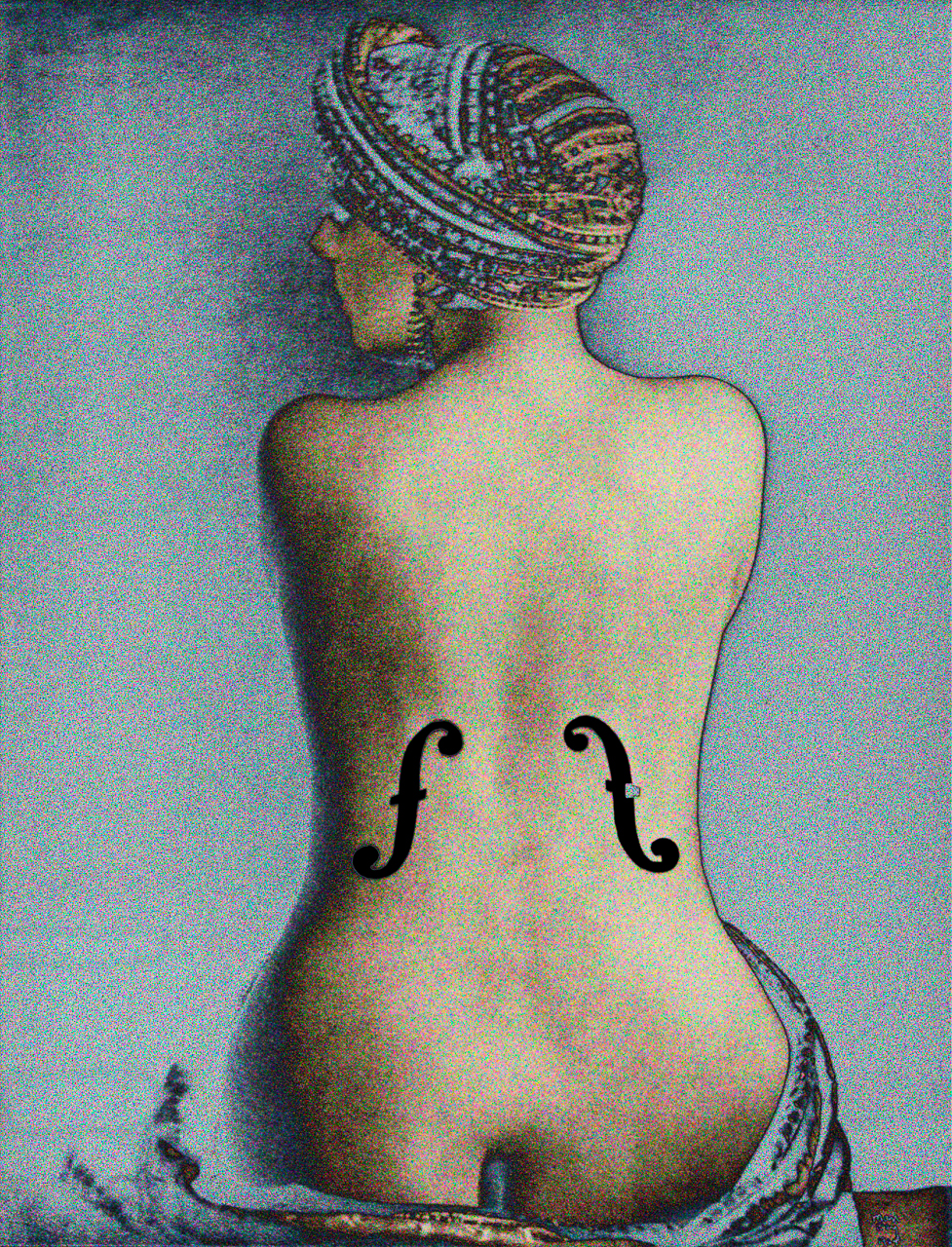 Ray, Man (Ingres-Violin 1924)