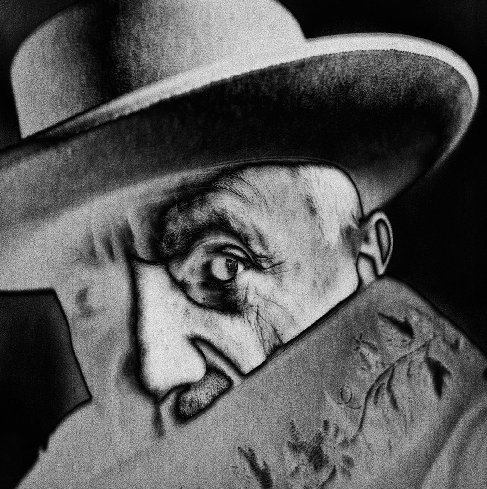 Penn, Irving (Pablo Picasso at La Californie 1957)