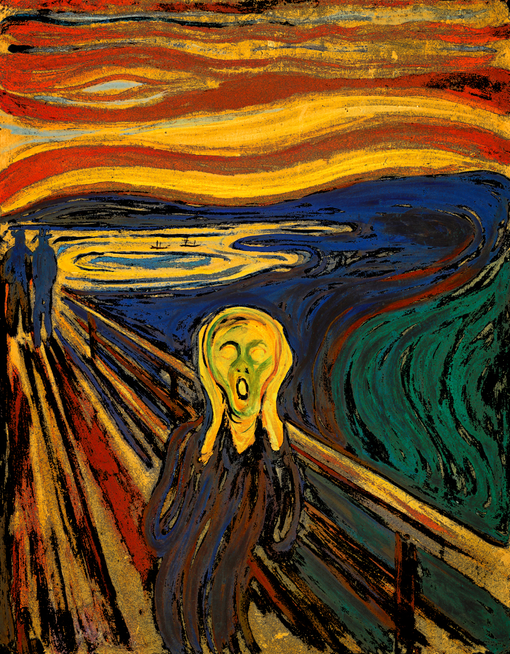 Munch, Edvard (The Scream, 1893)