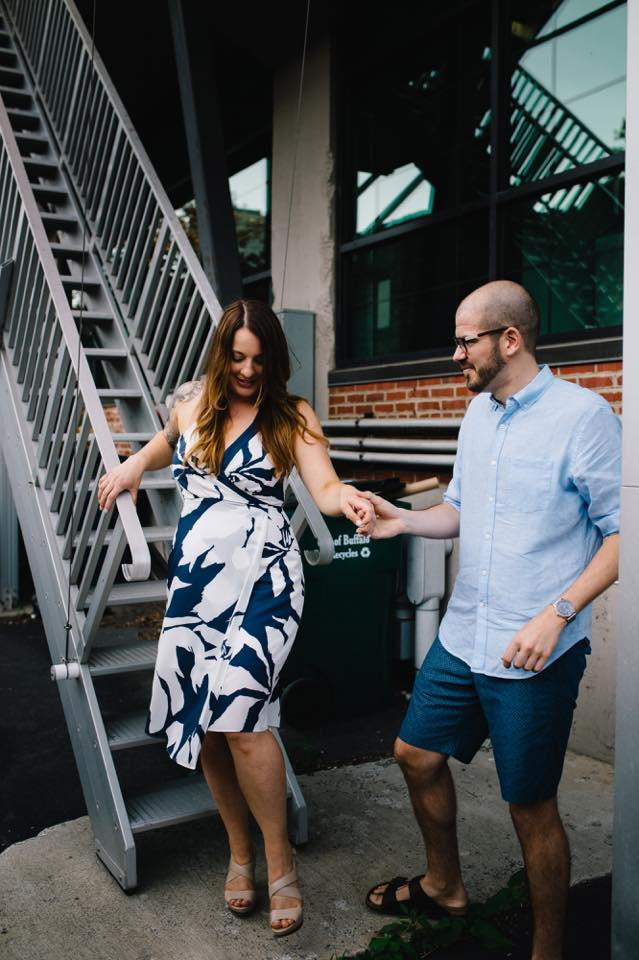 Engagement Photo styled by AR Stylists. Photo by John Baker of Apricity Photography.