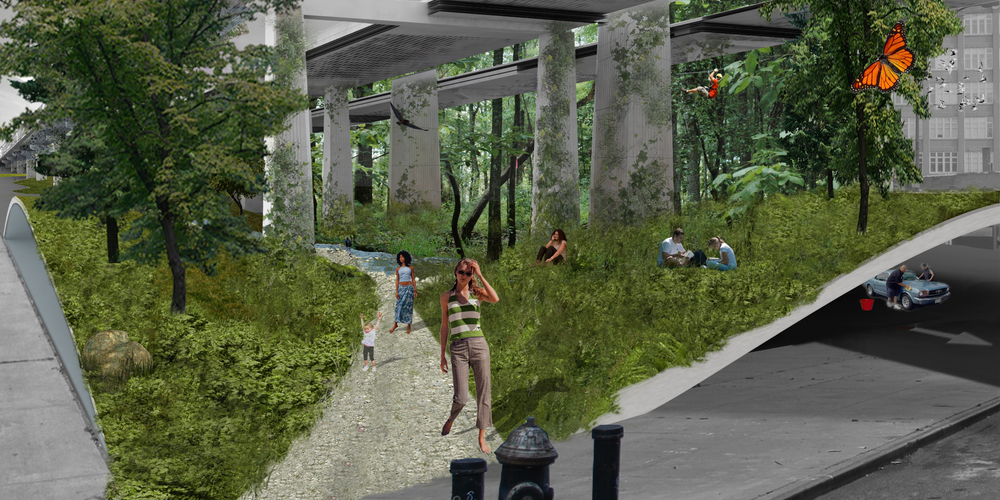 A Forest Under the Williamsburg Bridge