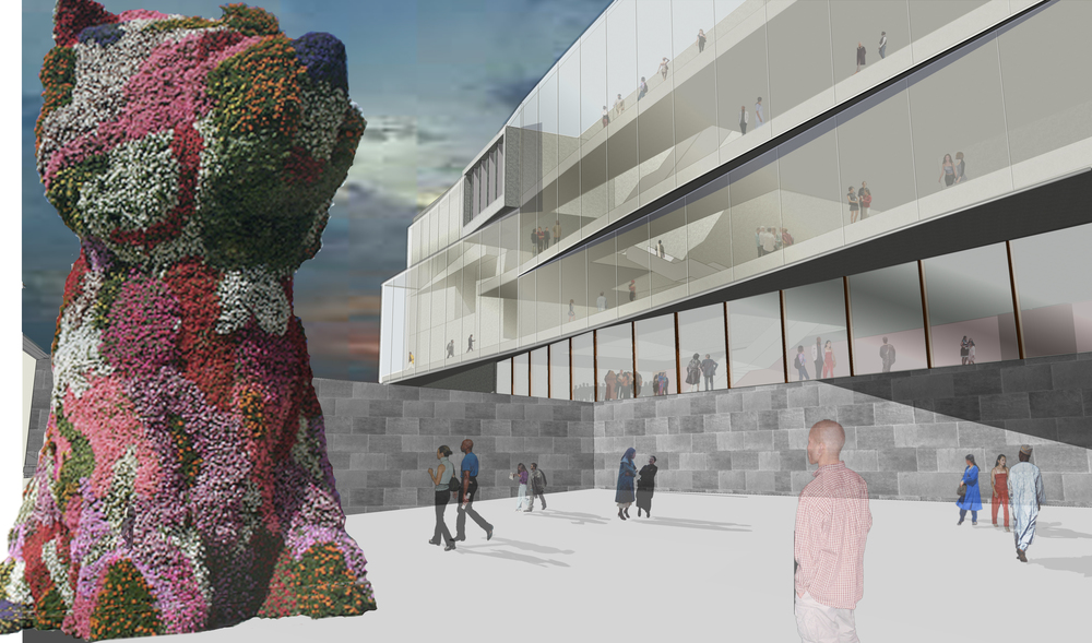 NATIONAL MUSEUM AT VESTBANEN, OSLO COMPETITION