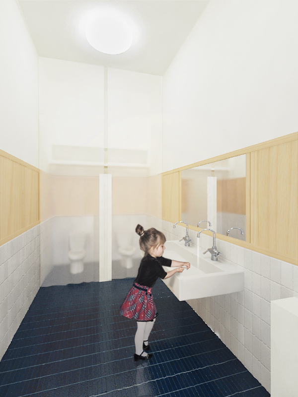 MERRICAT'S CASTLE SCHOOL BATHROOM RENOVATIONS