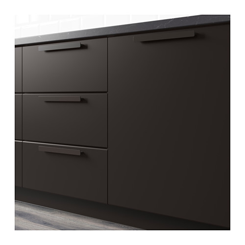 IKEA BLACK CABINETS FOR KITCHEN -