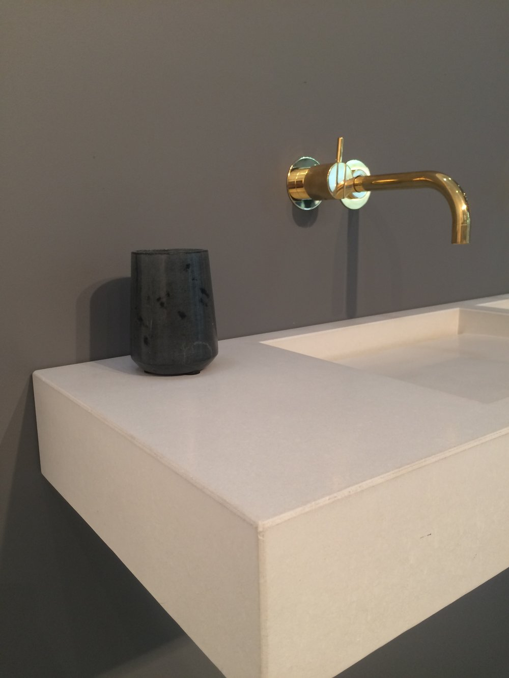 Vola Faucet In Brass. Tub Spout Would Be The Same.