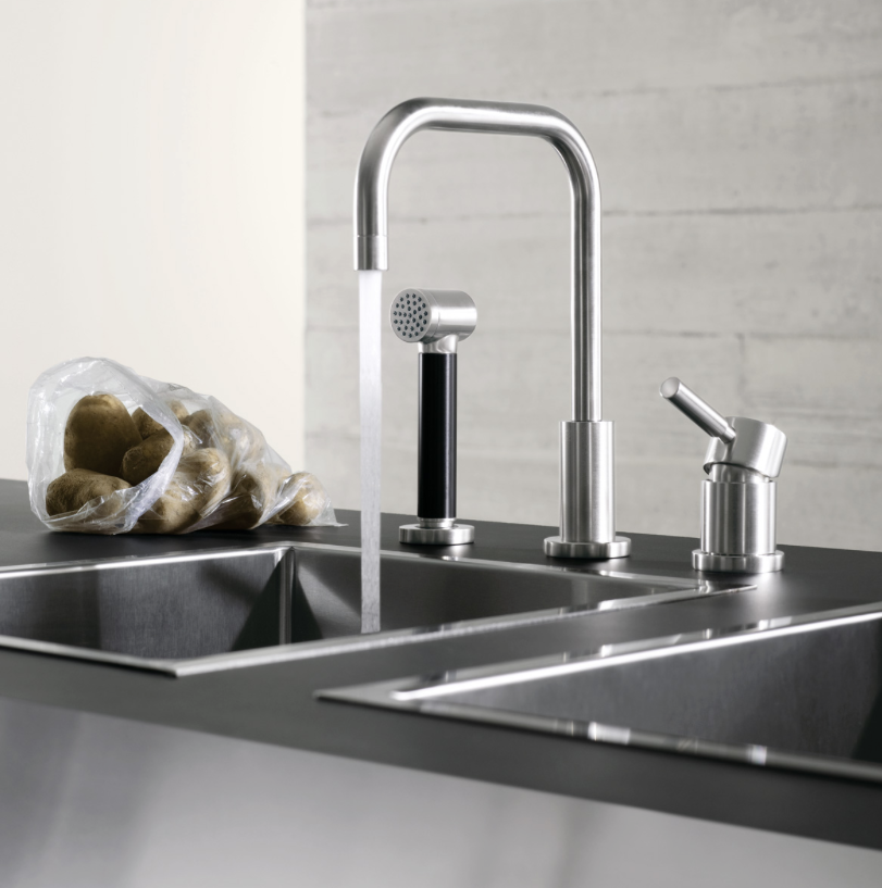 Dornbracht Meta Faucet with separate spray