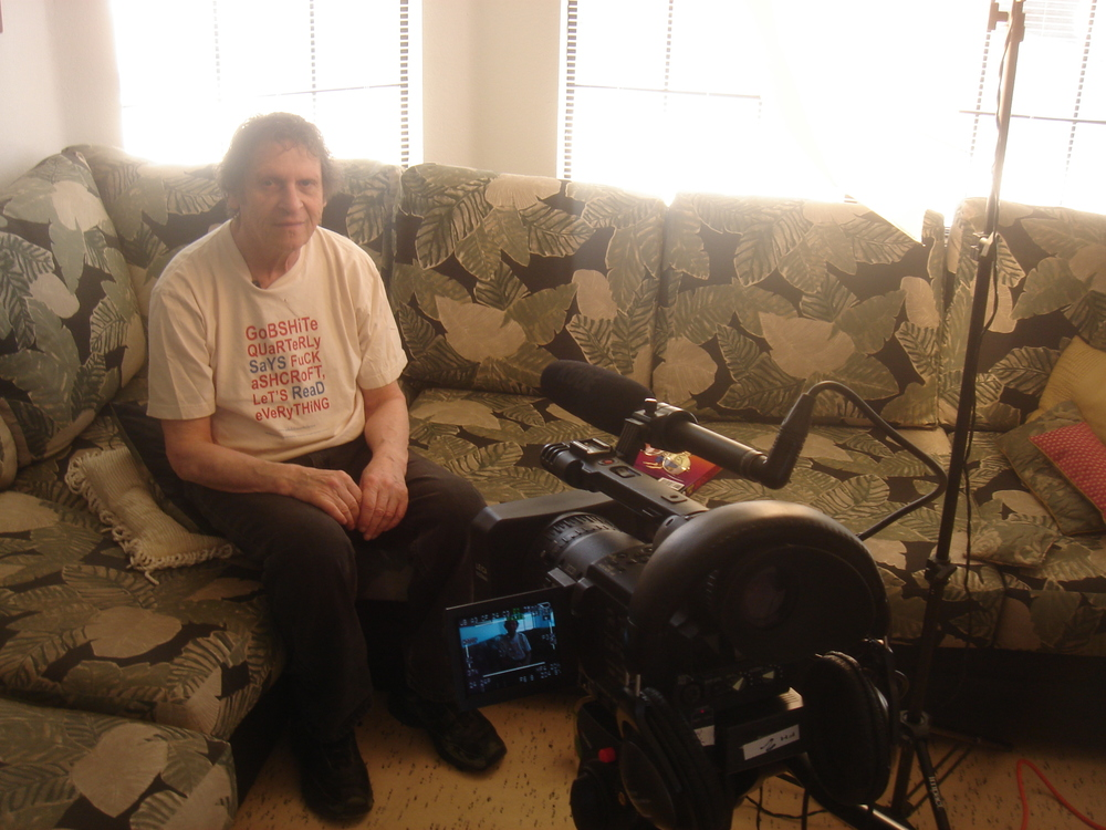 Filming Paul Krassner