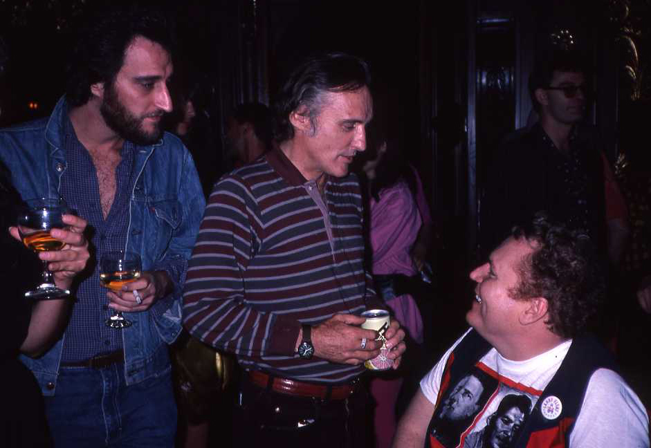 Bill Nirenberg, Dennis Hopper and Larry Flynt