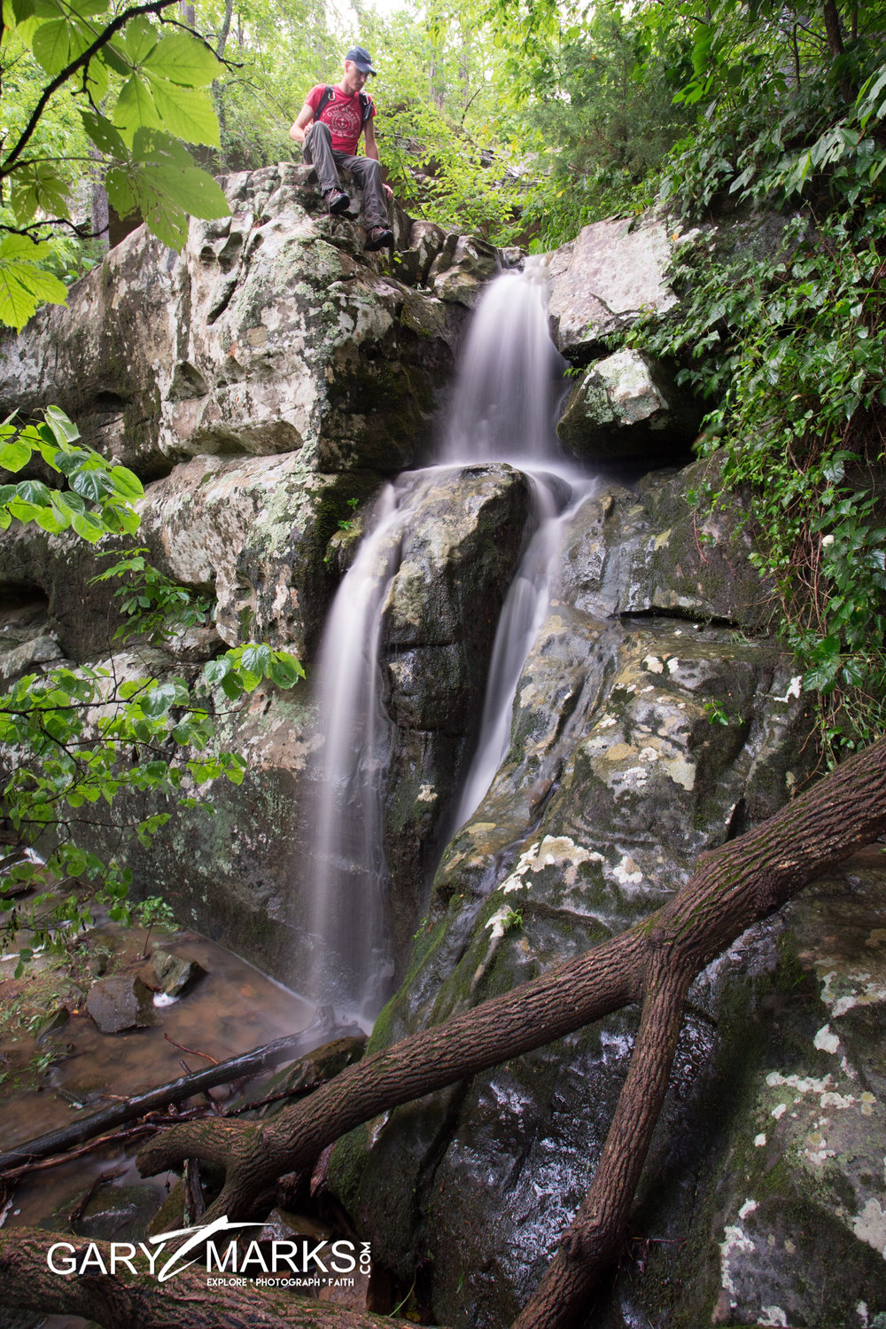 42b - Lower Two-Tier Falls