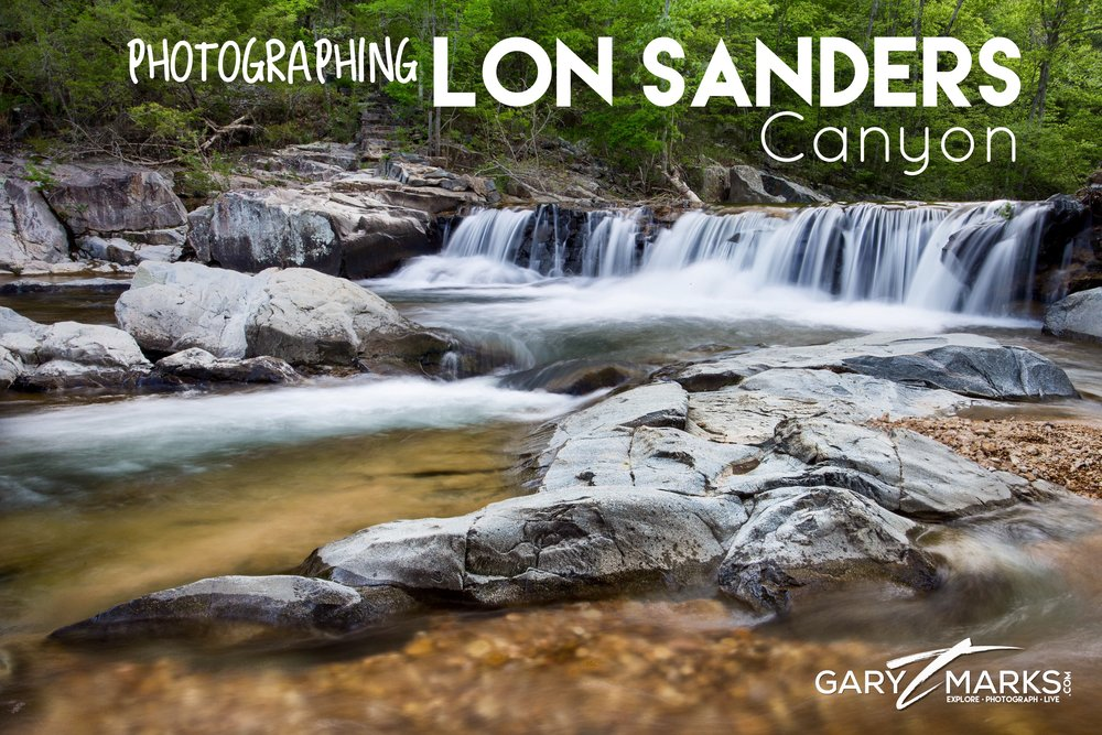 Photographing Lon Sanders Canyon
