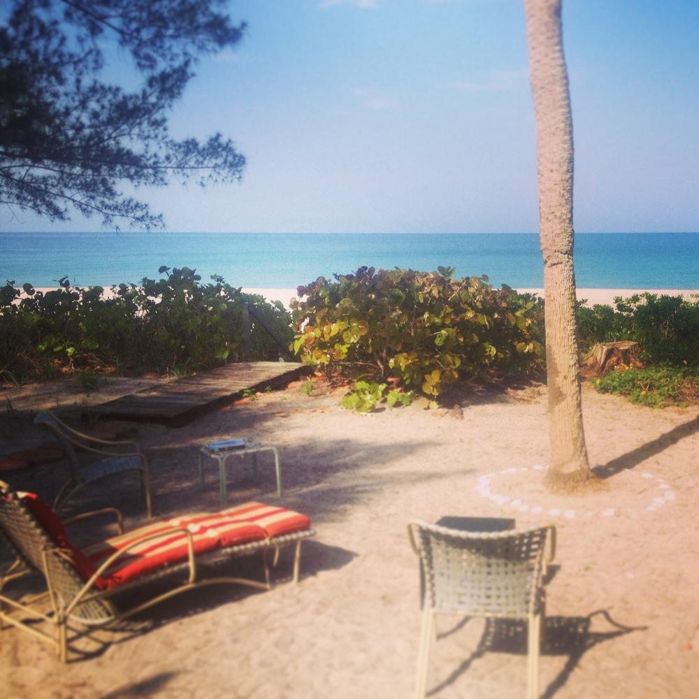 Gulf view.