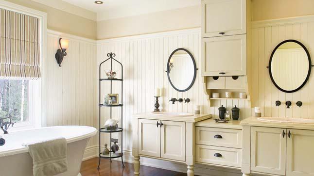 Tous les styles entre ciel et terre for Chambre de bain rustique