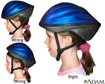 how to properly select fit and wear a helmet fairfax cycling camp