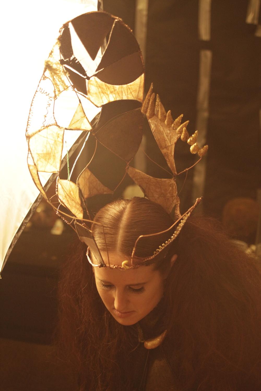 Headdress by Sasha Flimlin, Photo by Molly Brolin