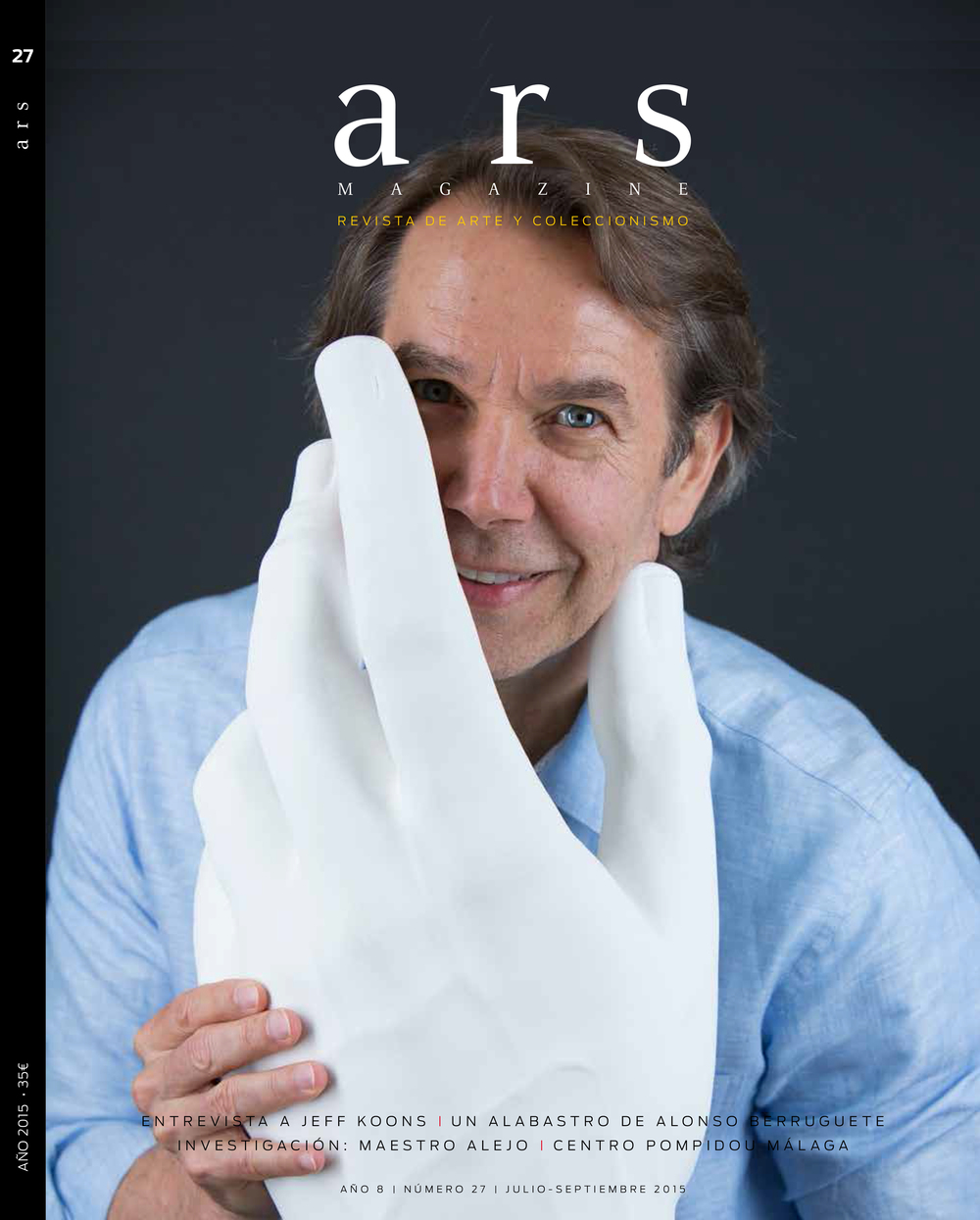 Artist JEFF KOONS for ARS MAGAZINE