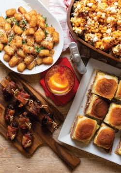 First things first – the snacks. It's game time when these dishes make an appearance! Here's a quick, easy-to-make snack that's sure to be cheer-worthy. Get the recipe for Mobile Bay Magazine's scrumptious  Cuban Sliders ! You won't fumble with these finger foods!