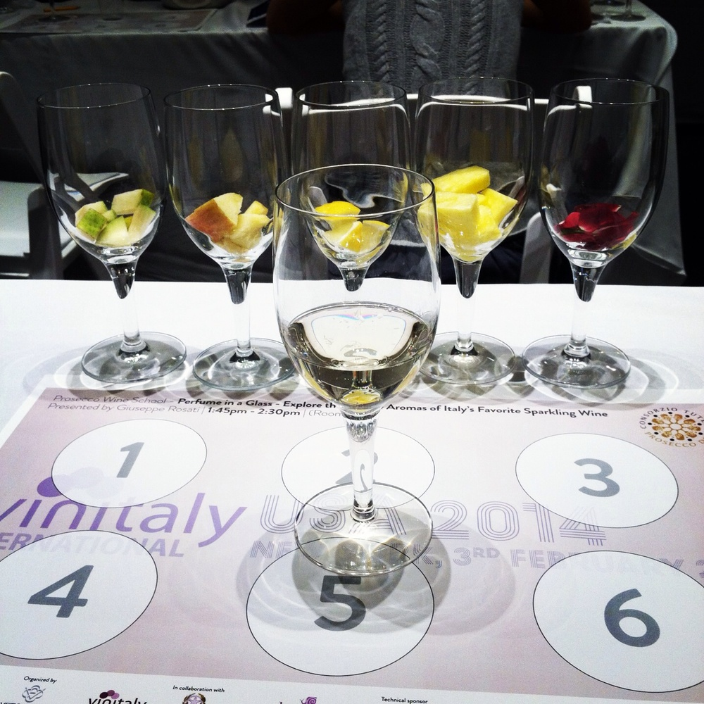 Prosecco seminar. Photo by Shana Speaks Wine