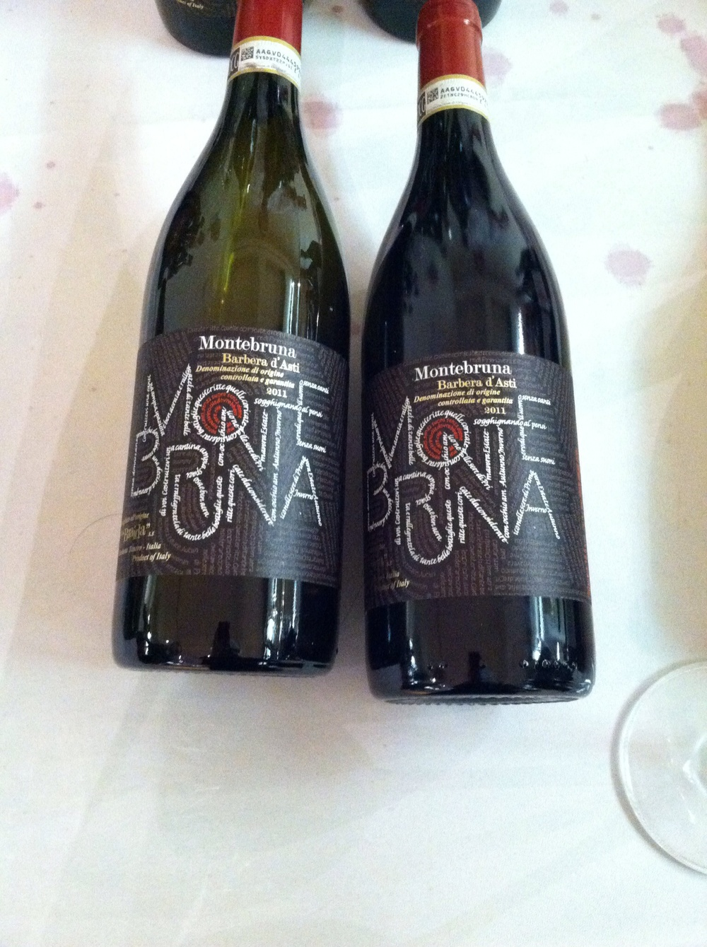More Piedmontese offerings - Barbera dAsti