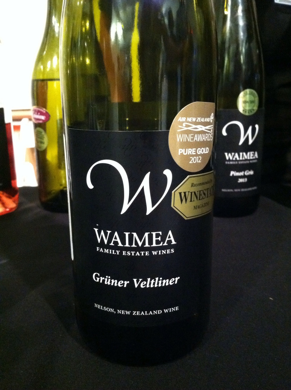 Waimea Gruner Veltiner, photo by Shana Sokol, Shana Speaks WIne